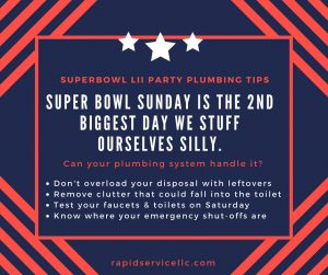 Superbowl-party-plumbing-tips-emergency-service-marlborough-ct-rapid-service