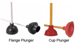 flange-cup-plunger-difference